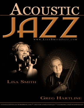 ACOUSTIC JAZZ with Lisa Smith & Greg Hartline