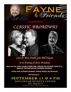 classic broadway ron and lisa smith fayne & friends