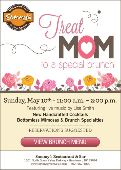 sammy's mother's day jazz brunch with Lisa Smith